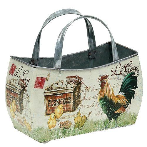 Tasche zum Bepflanzen Ostern 21,5cm x 13cm