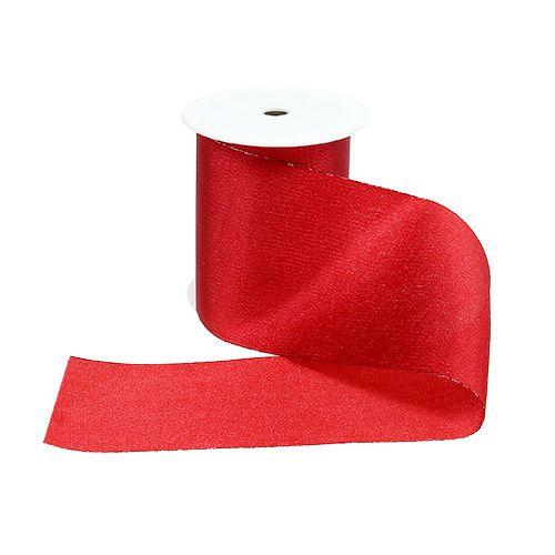Tischband Rot 10cm 15m