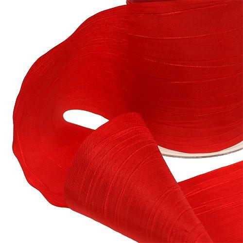 Tischband Rot Crash 100mm 15m