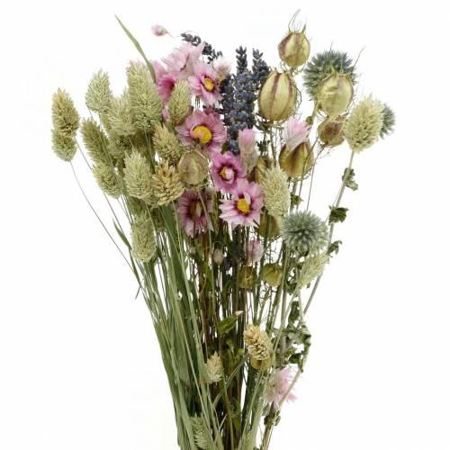 Wildgräser-Strauß mit Strohblumen Trockenfloristik 70g