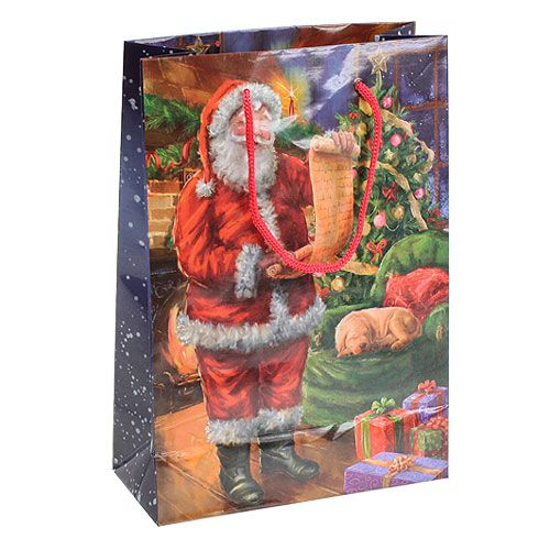 Geschenktasche Santa 25cm x 34,5cm