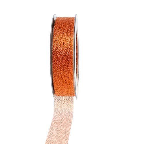 Weihnachtsband Kupfer 25mm 25m