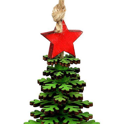 weihnachtsbaum zum h ngen gr n 14cm gro handel und. Black Bedroom Furniture Sets. Home Design Ideas