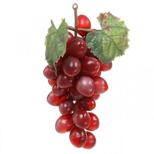 Deko Weintraube Rot Künstliche Trauben Deko Früchte 15cm