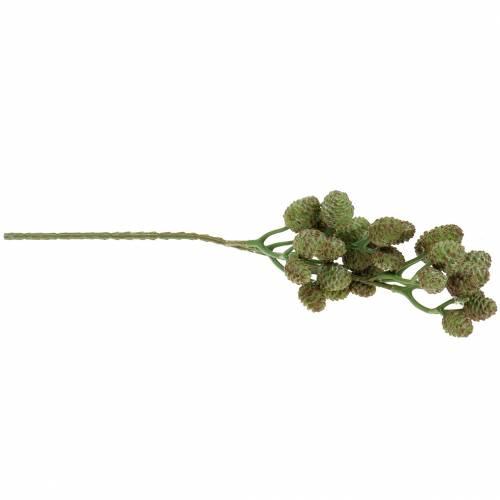 Zapfenzweig Grün 33cm