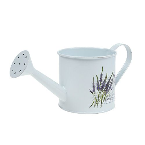 Zinkgießkanne Ø10,5cm H10cm mit Lavendel
