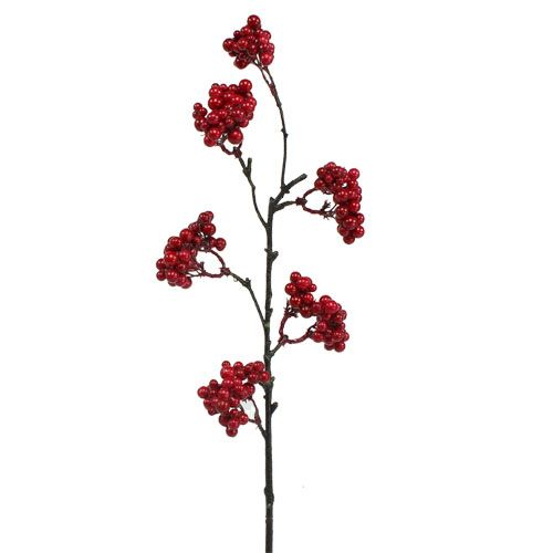 Beerenzweig Rot 50cm 4St