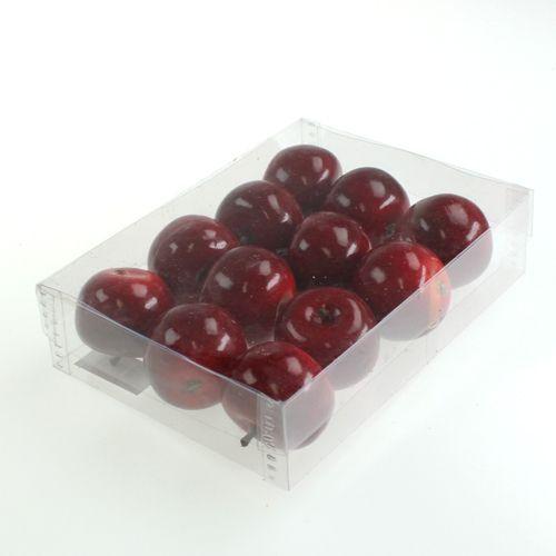 deko apfel rot gl nzend 4 5cm 12st gro handel und lagerverkauf. Black Bedroom Furniture Sets. Home Design Ideas
