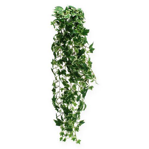 Efeuhänger künstlich Grün, Weiß 70cm