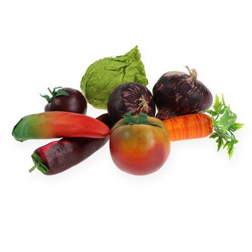 Gemüse-mix im Netz