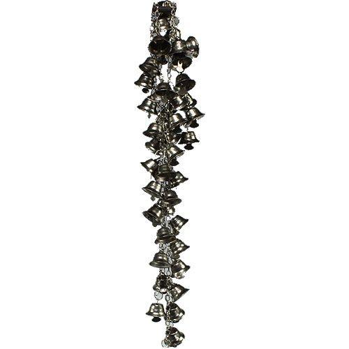 Glöckchen Kette Silber 1m