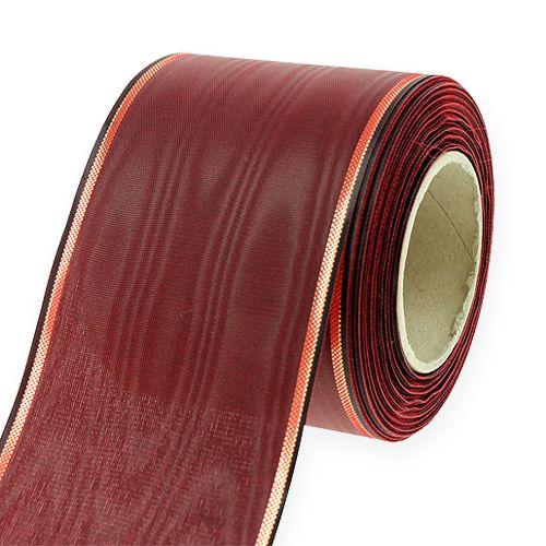 Kranzband Bordeaux 7,5cm 25m
