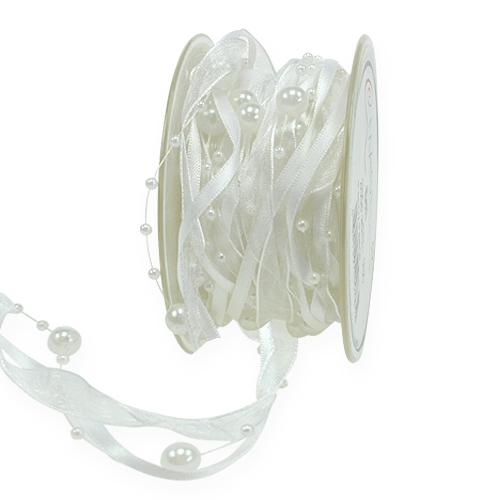 Hochzeitsbänder Weiß 15mm 5m