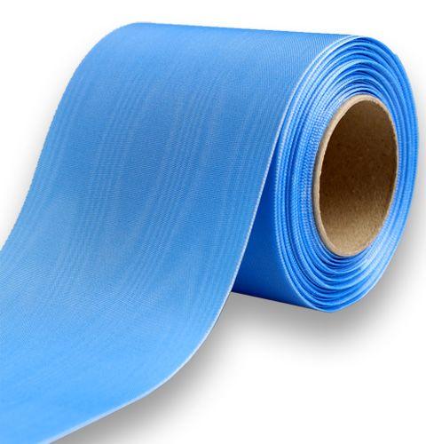 Kranzband hellblau 100mm 25m