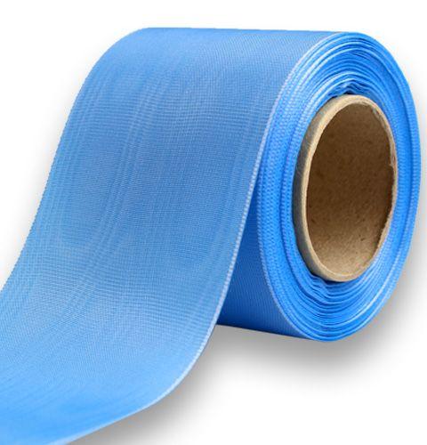 Kranzband hellblau 75mm 25m