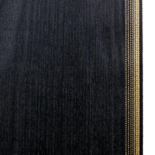 Kranzband Moiré 150mm, Schwarz