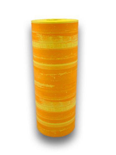 Manschettenpapier 37,5cm 100m gelb/orange