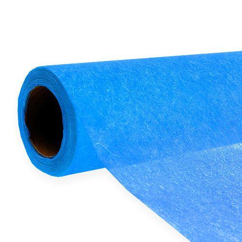 Deko Vlies 60cm x 20m Blau