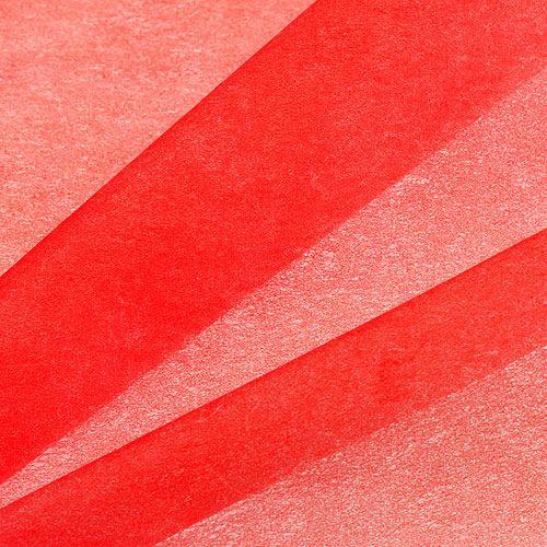 Deko Vlies 60cm x 20m Rot