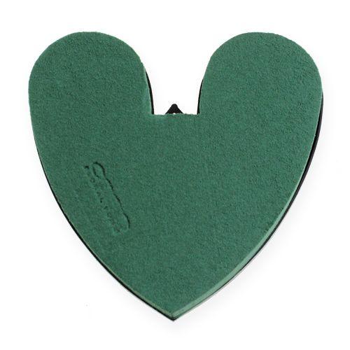 OASIS® Herz mit Boden 17cm 4St