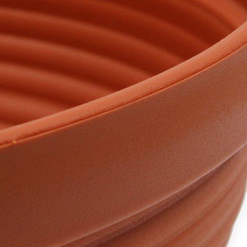 R-Schale Plastik Terrakotta Ø 13cm - 19cm, 10St