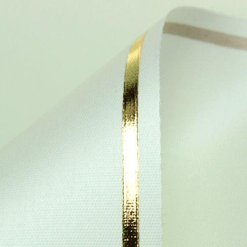 Kranzband Creme Computerdruck 125mm 25m