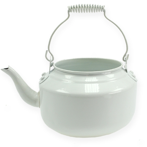 Teekanne Ø20cm Weiß