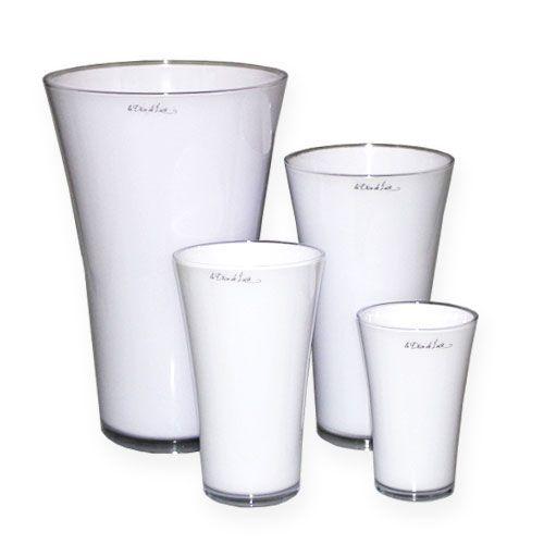 """Vase """"Fizzy"""" Weiß"""
