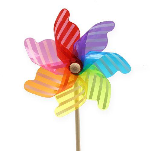 Deko-Windmühle Lollipop bunt Ø22cm