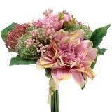 Blumenstrauß Dahlie, Protea 25cm