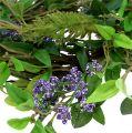 Blätterkranz mit Lavendel 30cm