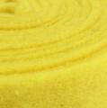 Filzband Gelb 7,5cm 5m