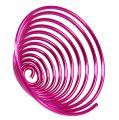 Metallschnecke Pink 2mm 120cm