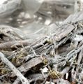 Pflanzkissen grau gewaschen 30x30cm