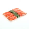 Deko-Karotten Orange 11cm 12St.