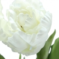 Deko Tulpen Weiß 73cm 3St